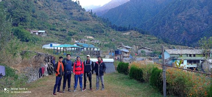 Sunderdhunga Trek Homestay IN Jaitoli Village