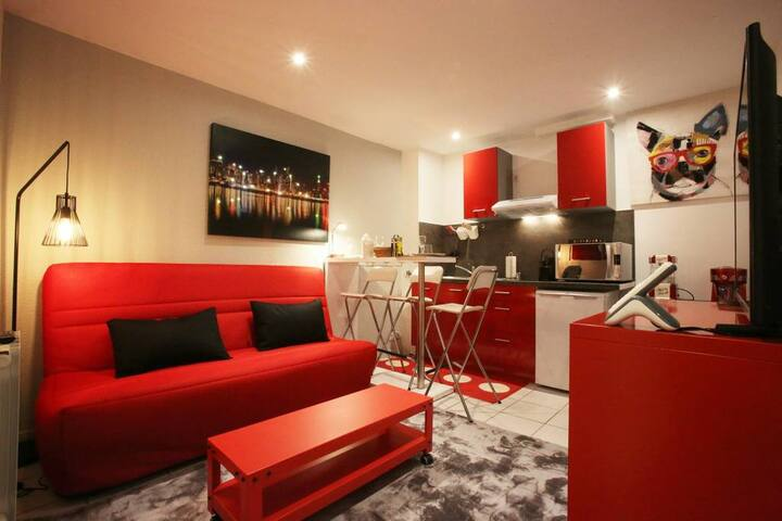 """Appartement """"Funny Cook"""" 1 chambre"""