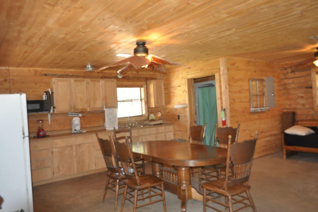 Wagon Wheel Main Lodge Flat Creek Crossing Ranch