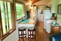 Sunny Galley Kitchen