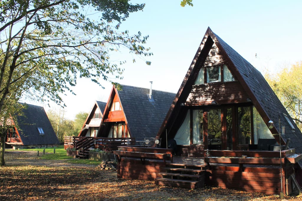 20 lodges set in a private secluded site