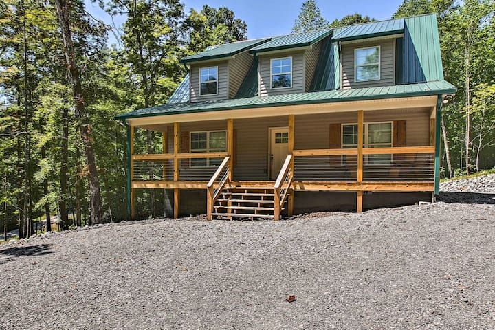 NEW! Nolin Lake House Near Mammoth Cave!