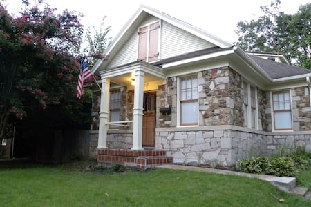 Charming historic stone cottage in Midtown! - Memphis - Hus