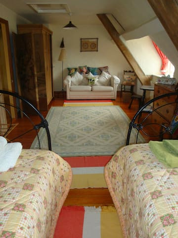Converted barn 10 minutes walk to Le Manoir - Great Milton - Bed & Breakfast