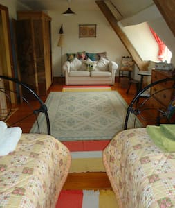 Converted barn 10 minutes walk to Le Manoir - Great Milton - 住宿加早餐