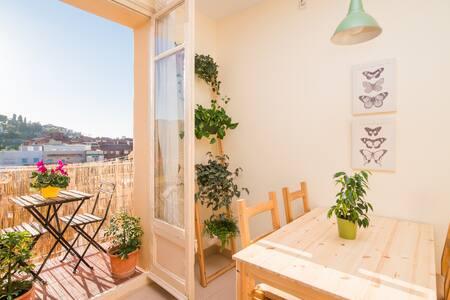 Habitación tranquila Pl. españa - Barcelona