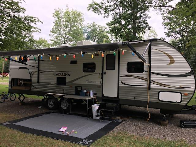 Family fun Camper