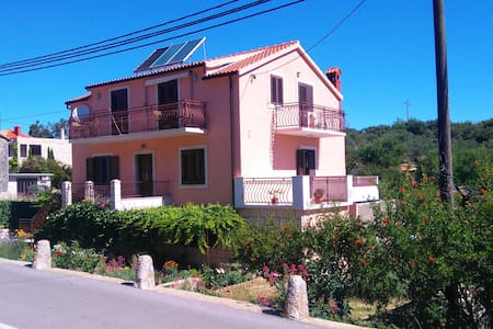 Apartment Rubinic, village Vrisnik1