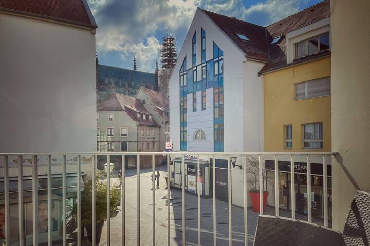Appartement avec terrasse - Centre historique