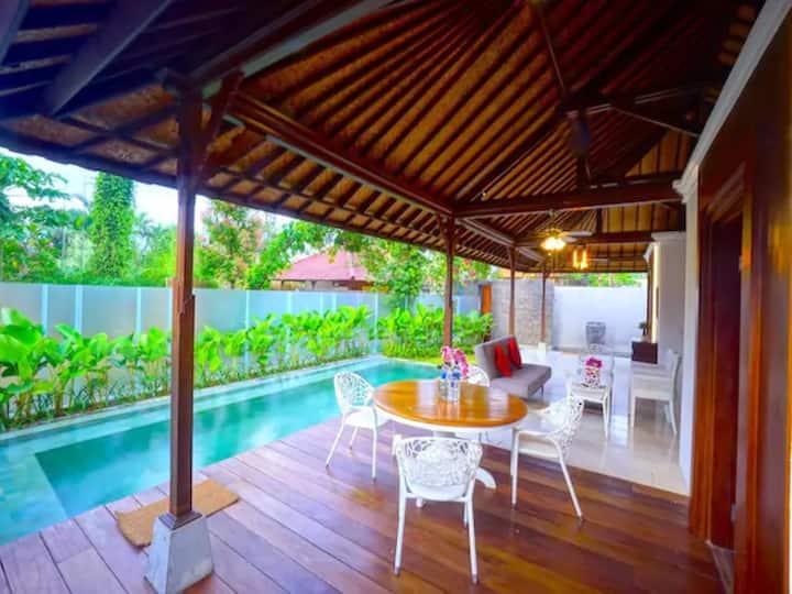 2BR Luxury Villa w/ Private Pool in Central Ubud