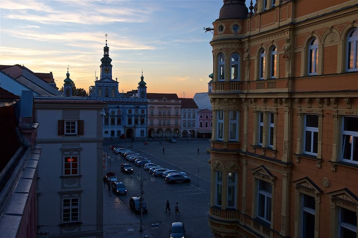 King's view apartment in historic city center