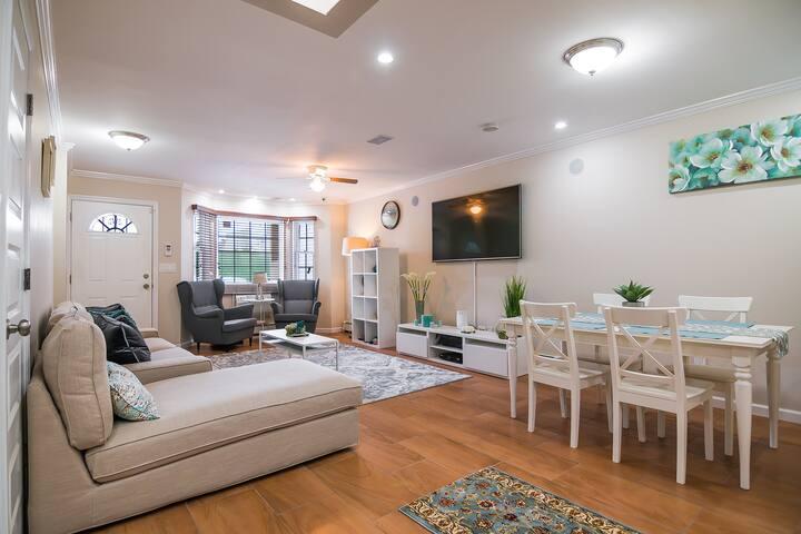Modern Apartment☆5 Mins to Subway☆40 Mins to NYC☆