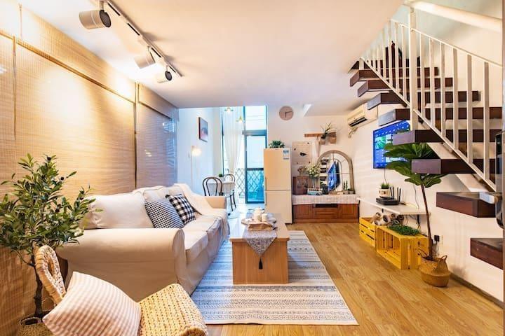 【四海之家】温馨公寓/广州国际轻纺城/Fabric market/中大布匹市场/小区内有多套房源