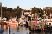 Charmante Hafen-Wohnung mit traumhaftem Meerblick
