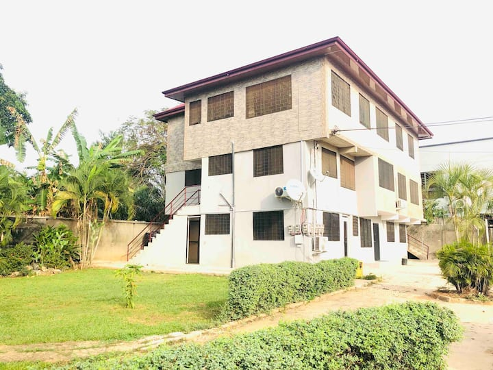 Nalux Kumasi Suite 3 Villagio⭐️2BDR/WIFI 📡Family⭐️