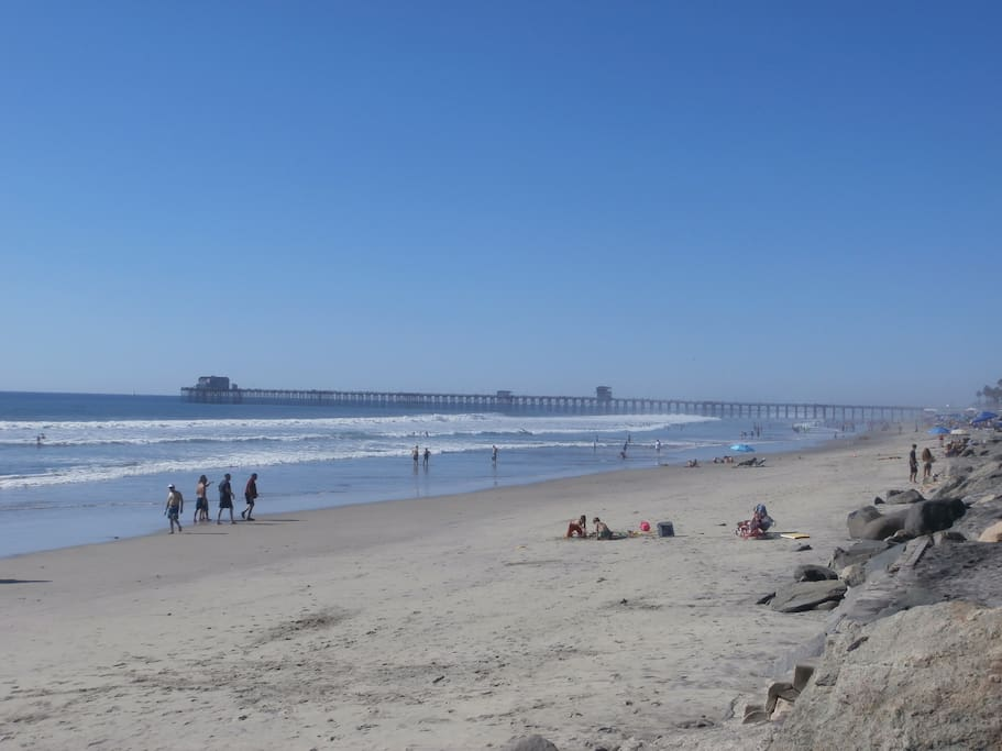 The Oceanside Beaches are some of the finest in Southern California.