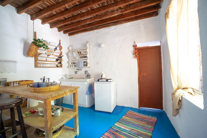 LindosTraditional Double Room with Kitchen