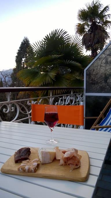 Südtiroler Spezialitäten geniesen