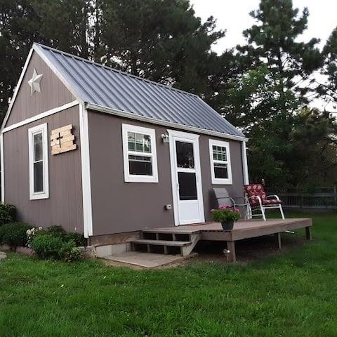 紐約州林肯附近可愛的鄉村小屋