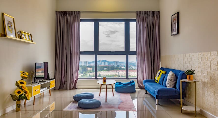 Lovely Puchong Home/8pax/Staycation/Kids+Family