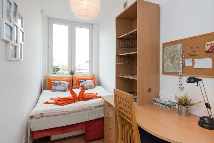 Beautiful bedroom in the center of Krakow - Krakov - Byt
