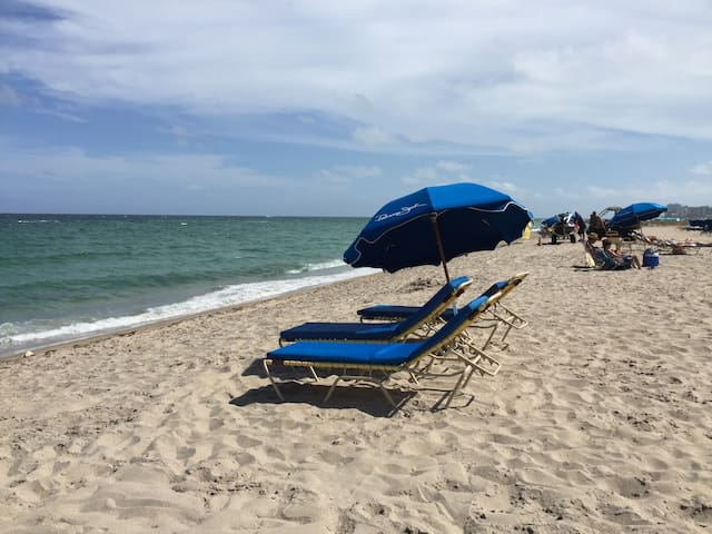 Lauderdale By the Sea Beach in 5 Minutes - Fort Lauderdale - Apartment