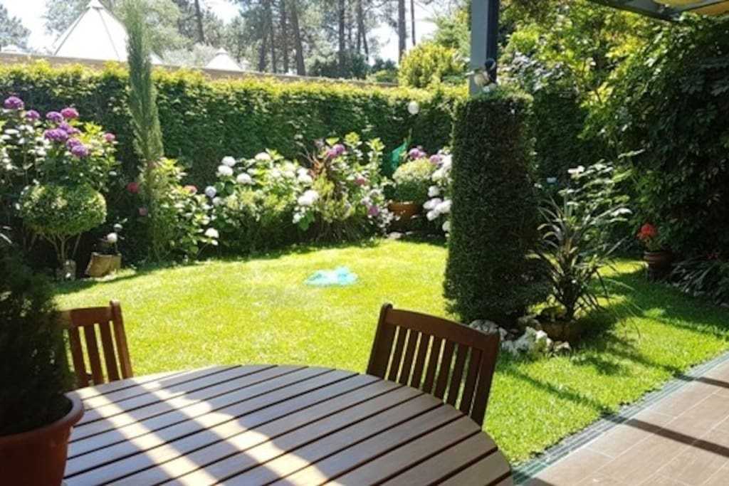 Vue jardin