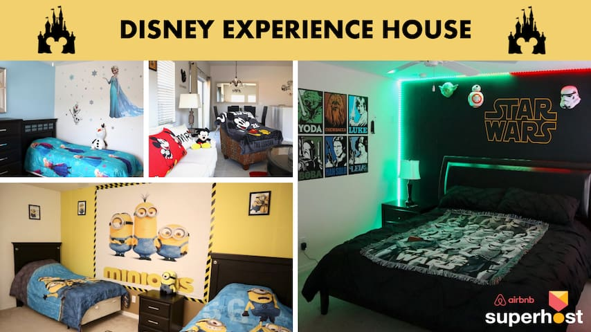 DISNEY EXPERIENCE HOUSE 4 bd PRIVATE POOL