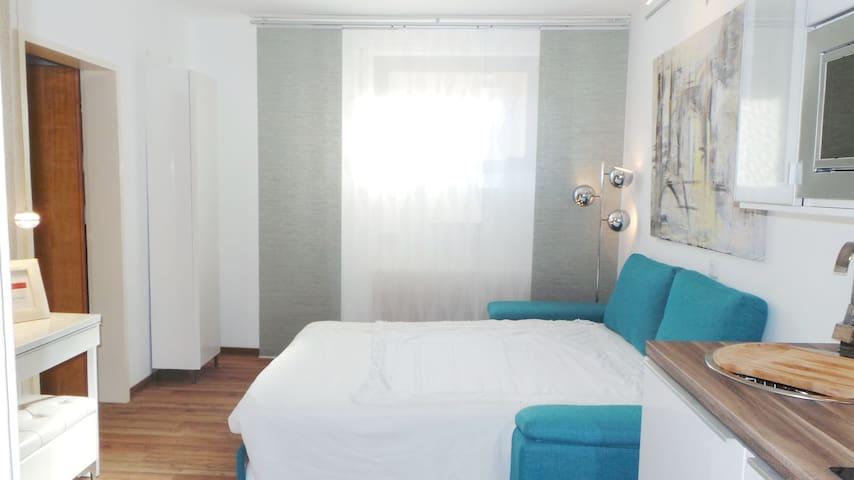 Modernes Hostel - Zweibettzimmer mit Teeküche (KA) - Καρλσρούη - Χόστελ