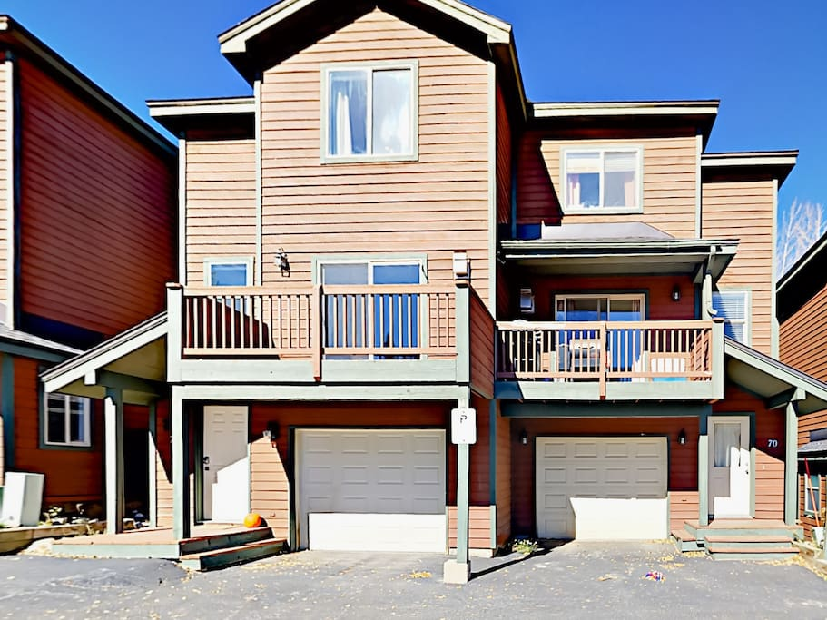 Newly renovated Summit County townhouse, professionally managed by TurnKey Vacation Rentals.