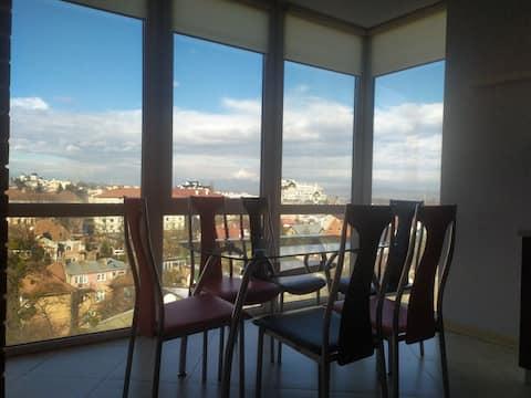 Апартаменты с уникальным обзором города