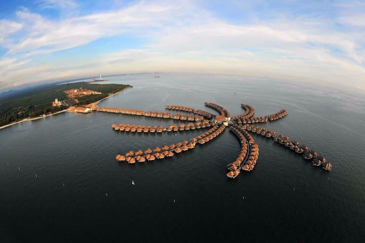 Weekly Avani Water Villa for A Family Getaway - Kuala Lumpur