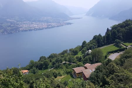 Charming shabby apartment with spectacular view - Bellagio - Apartamento