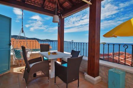 Villa Kamen Blue-Large terrace, incredible view 😍❤️