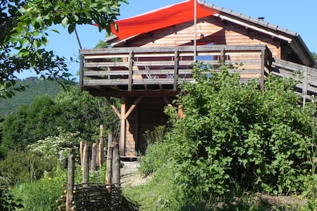 The wooden house of Ventalon en Cevennes - Saint-Frézal-de-Ventalon - 아파트