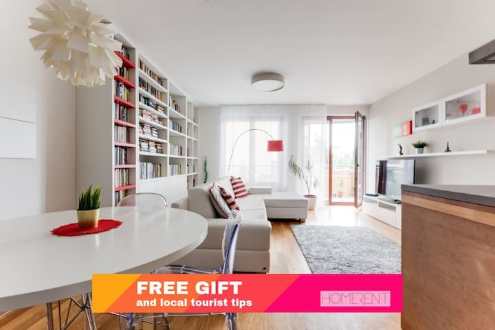 LUXURY & HOME style with TERRACE and FREE parking