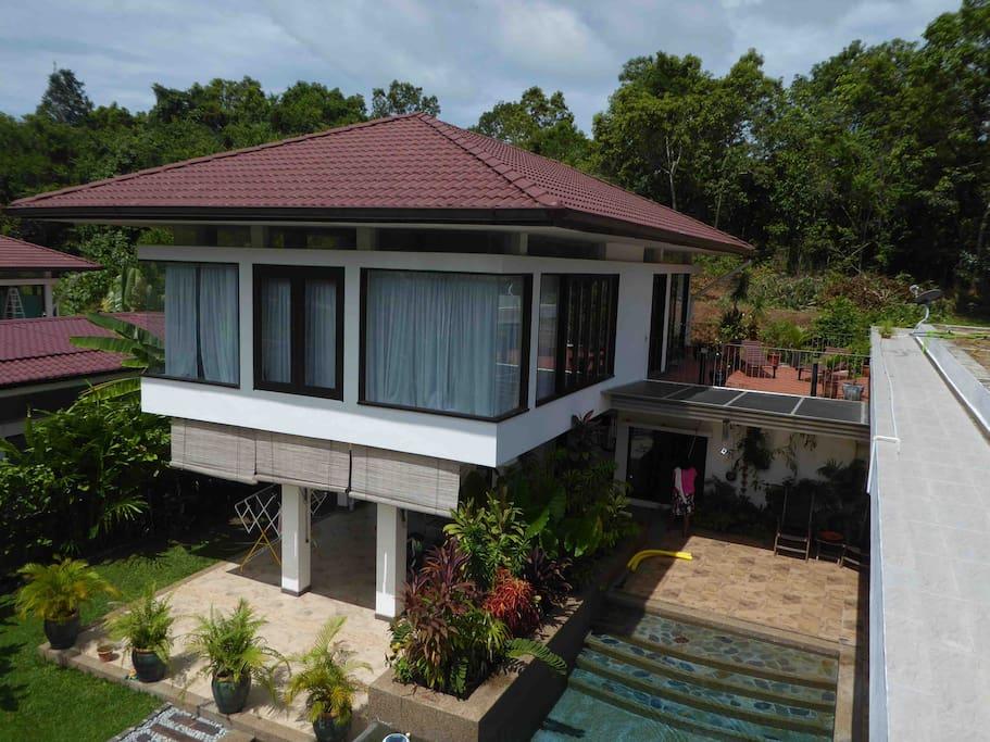 Master Suite, Private Bathroom/Spa & Sun terrace
