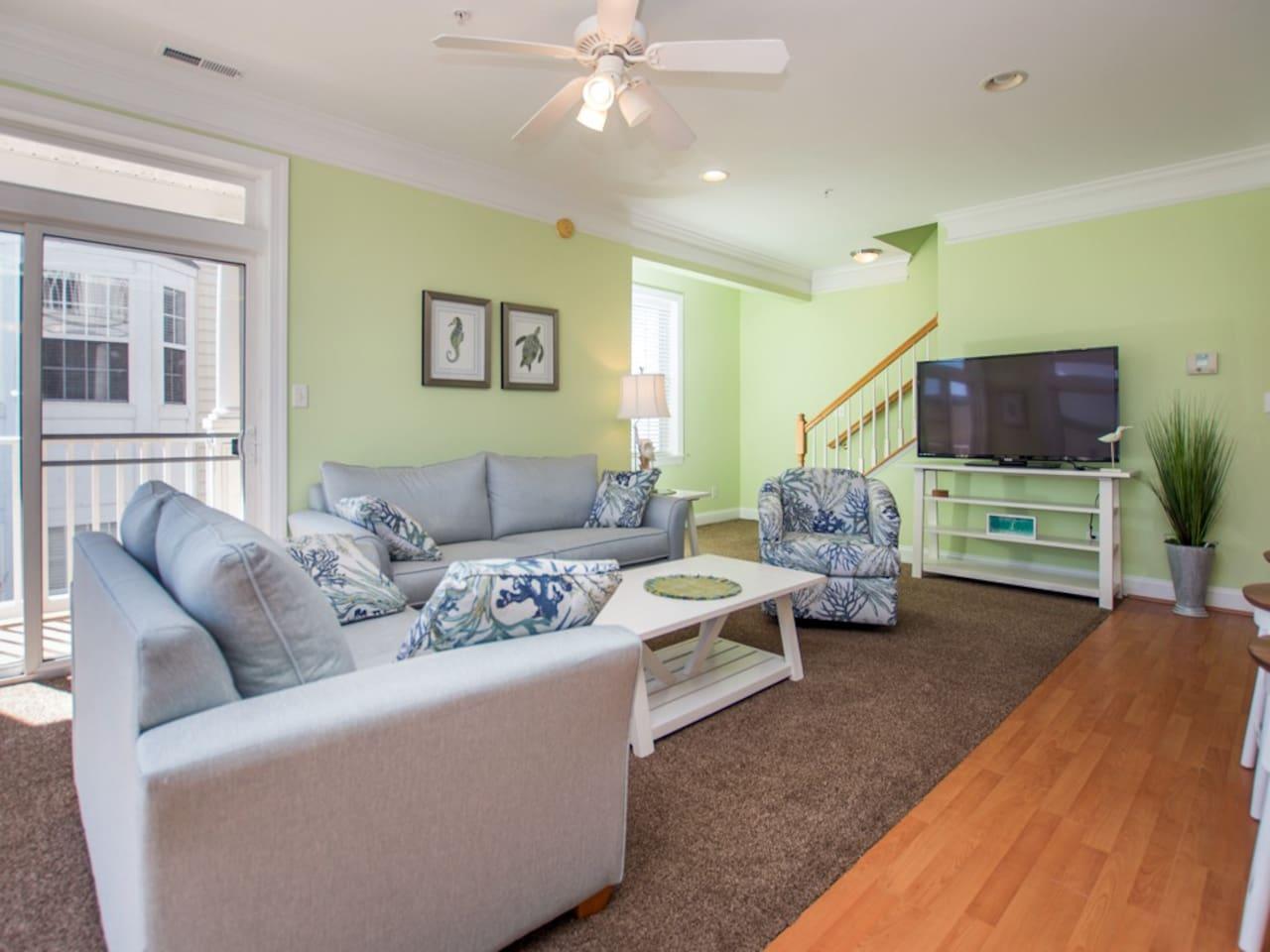 Palms Townhose, 3C - Living Room