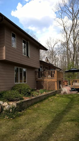 Comfortable Upper Peninsula location - Iron Mountain - Casa