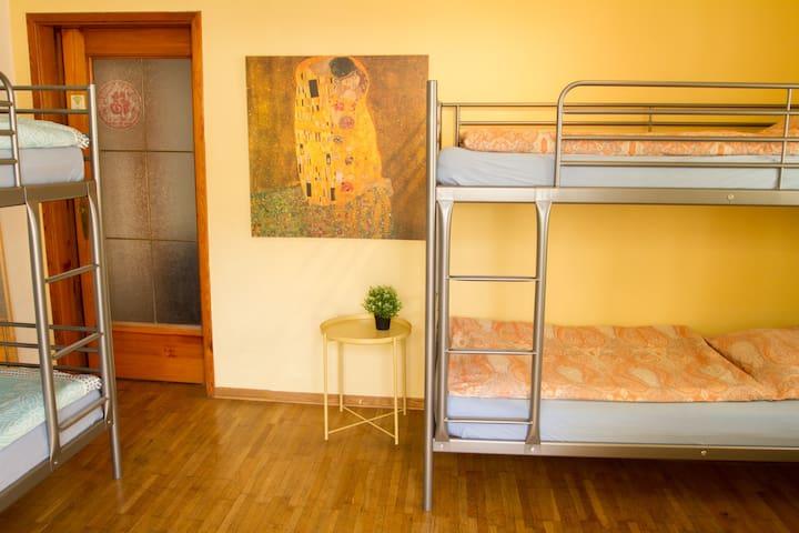 Edamame, Mixed Dorm (super zentral)
