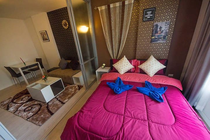 Studio ROOM long stay at D-CONDO - Amphoe Mueang Chiang Mai - Condominio