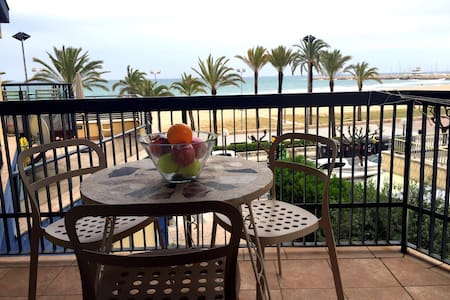Beautiful and cozy 2 bedrooms sea front apartment - Calafell - 公寓