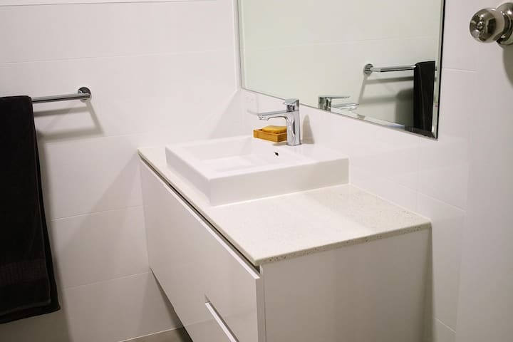 Bathroom freshly renovated
