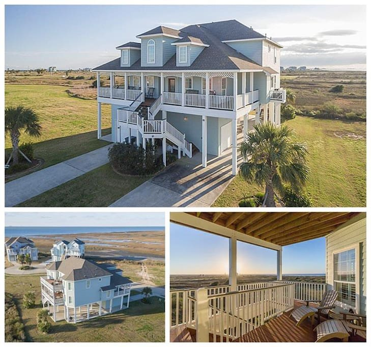 Bay House - Galveston Beach House