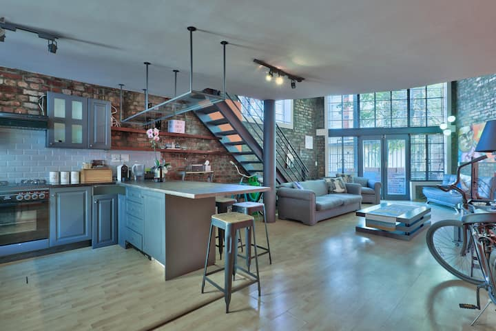 De Waterkant Loft with Pool+Bikes and Parking