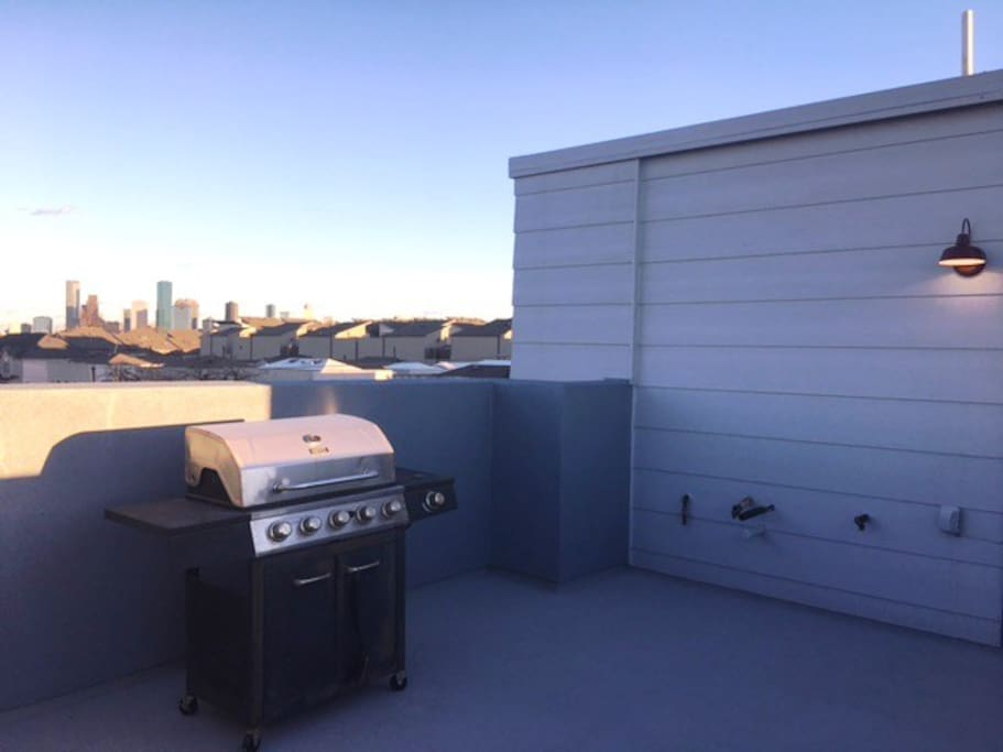 NEWLY RENOVATED ROOFDECK, BBQ WHILE ENJOYING YOUR CITY VIEW!