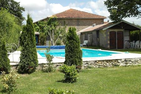 Agréable maison/studio à la campagne - piscine