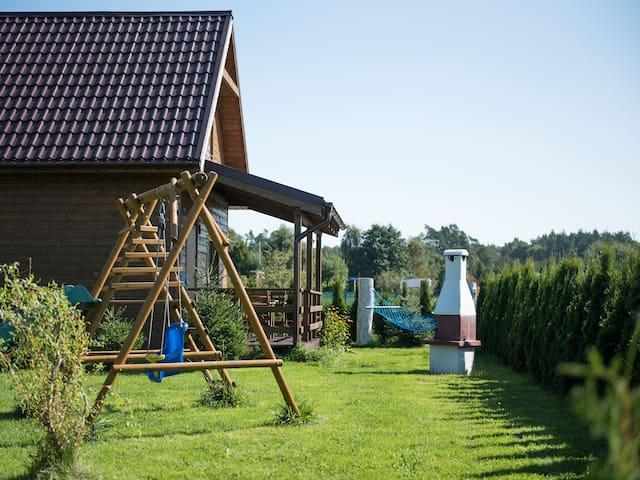 Kopalino - domek STANDARD PLUS z placem zabaw