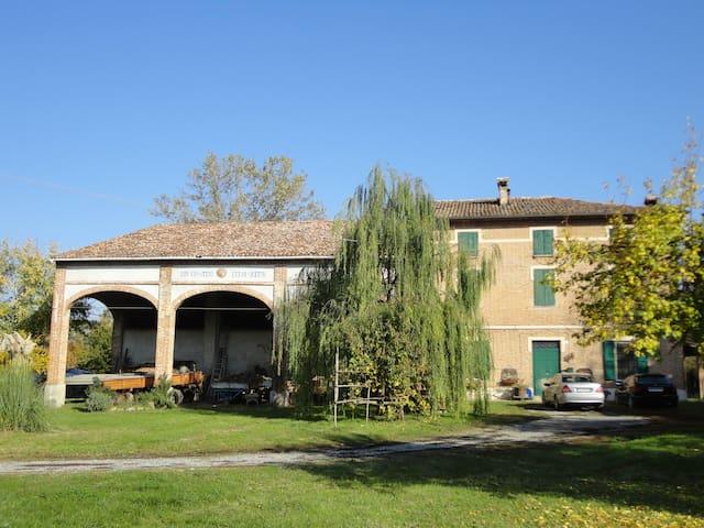 Rustico signorile campagna di Verdi - Fidenza Parma - Huis