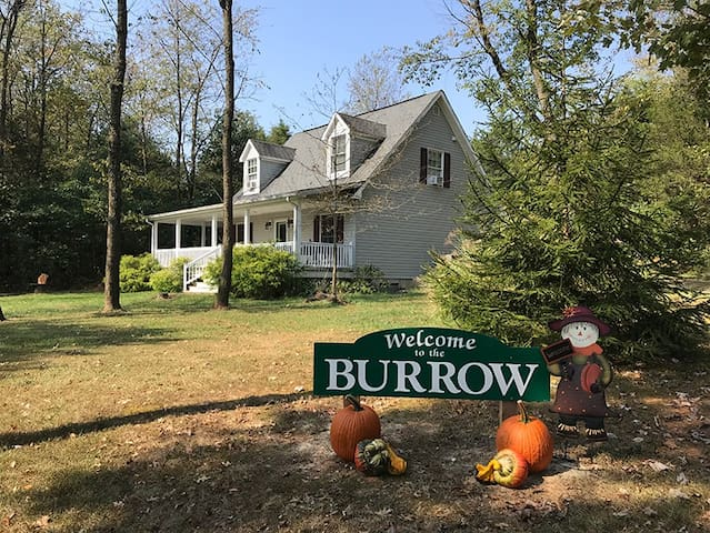 Autumn is a wonderful season to come stay at the Burrow! The  colors in the Shenandoah Valley are beautiful and there is so much to see and do!